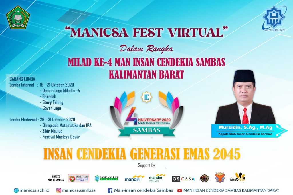 PEMBUKAAN MANICSA FEST VIRTUAL 2020