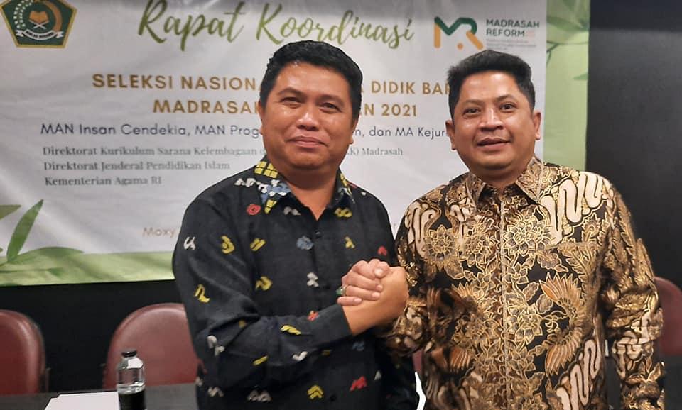 Pengukuhan KKM MAN Insan Cendekia Indonesia 2020