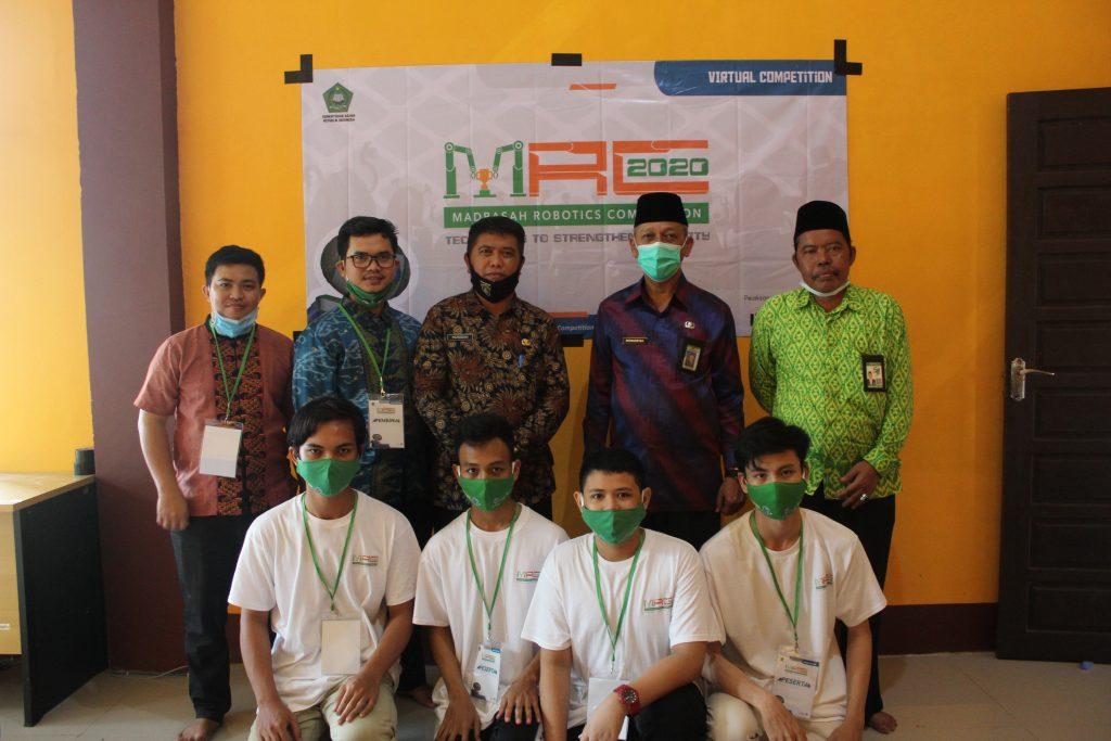 Tim Robotik MAN Insan Cendekia Sambas Ikuti Madrasah Robotics Competition 2020