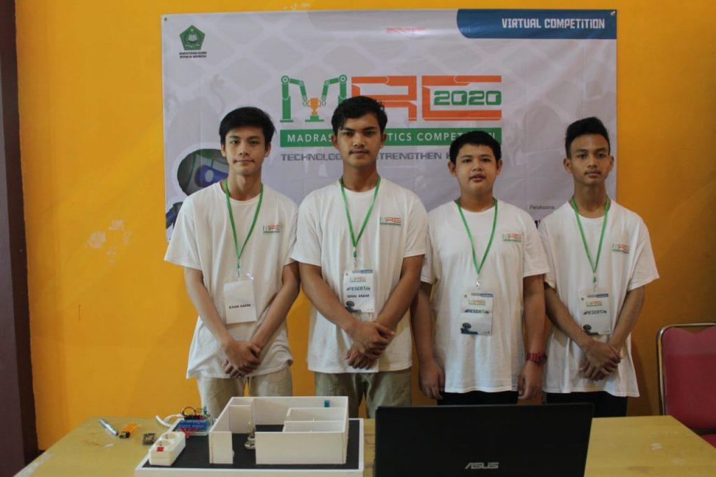 Tim Robotik MAN Insan Cendekia Sambas Siap Mengikuti Babak Semifinal MRC Tingkat Nasional 2020