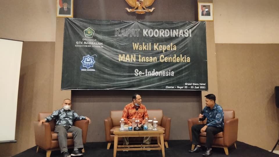 Wakil Kepala MANICSA Mengikuti Rakor Wakil Kepala MAN IC Se-Indonesia