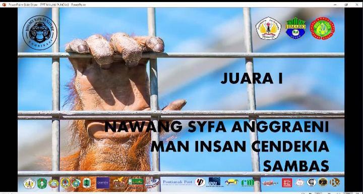 Siswa MANICSA Meraih Juara Satu dalam Lomba Jawara Biologi