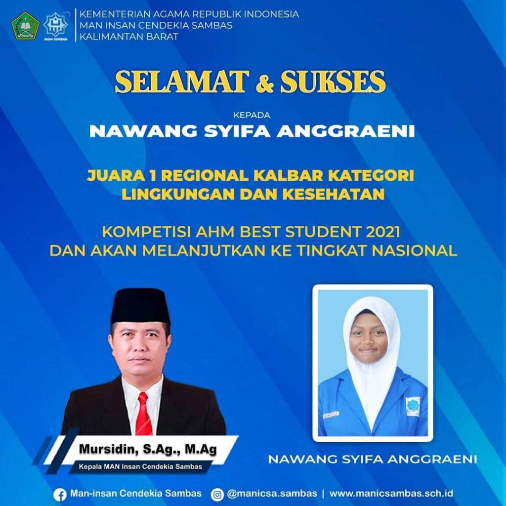 AHM Best Student 2021: Lolos ke Tahap Nasional