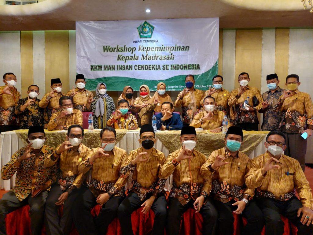 Workshop Kepemimpinan Kepala MAN Insan Cendekia Se-Indonesia